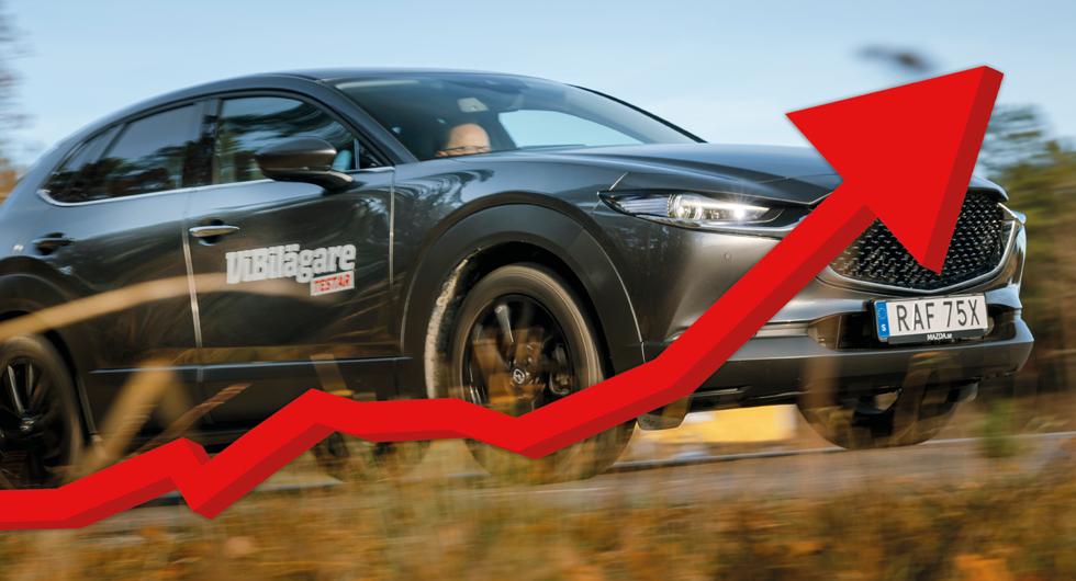 Mazda petar Toyota från kvalitetstoppen – Ford överlägset sämst