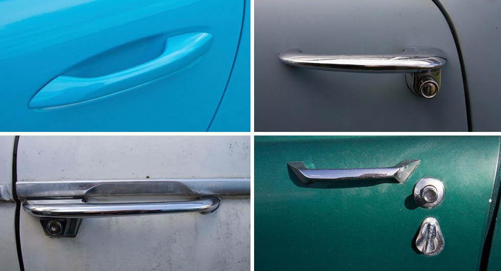 Svår quiz: Tar du bilmodellen på dörrhandtaget?