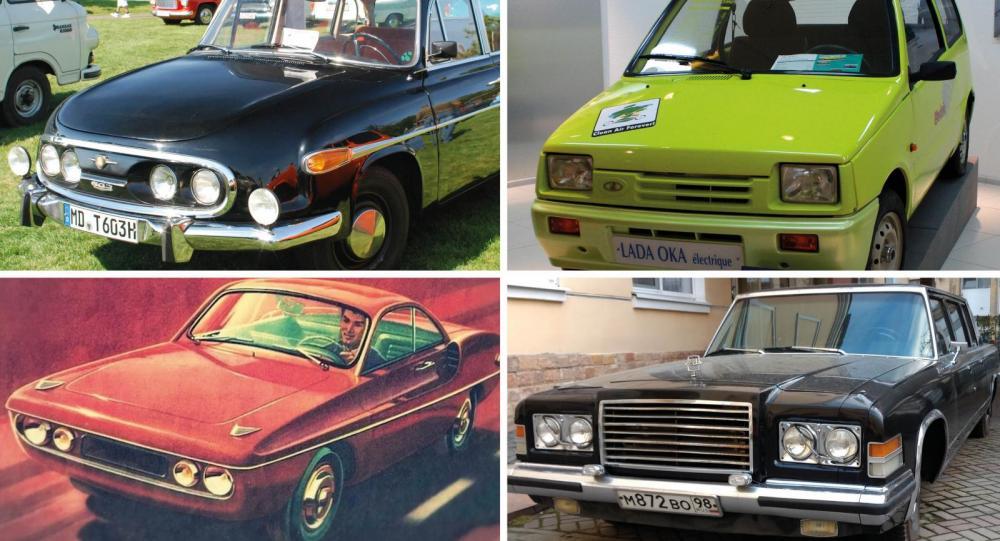 7 imponerande Sovjetbilar som är bortglömda sedan länge