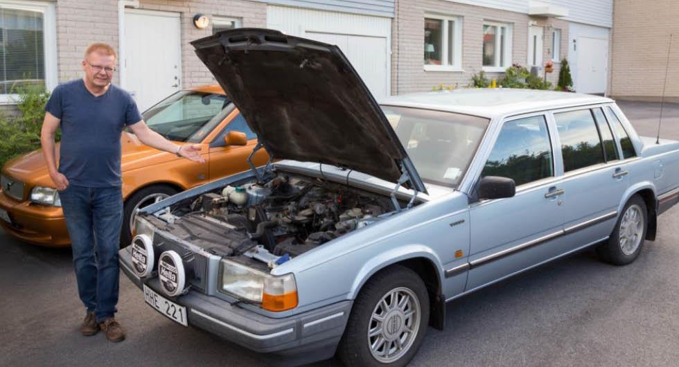 """Volvoägaren som kört över 170 000 mil: """"Åker gärna till Nordnorge"""""""