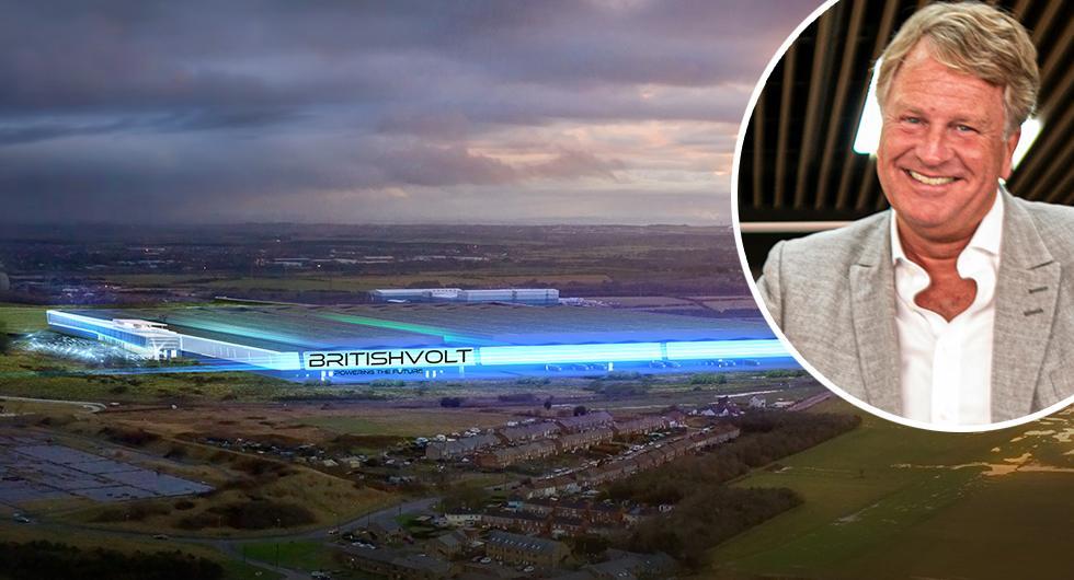 Britishvolt utmanar Northvolt med batterifabrik