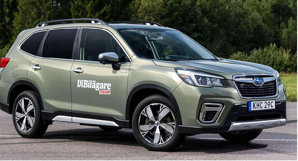 Subaru pausar importen till Norge på grund av hög straffskatt