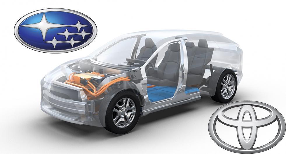 Subaru planerar europeisk elbil på Toyotagrund