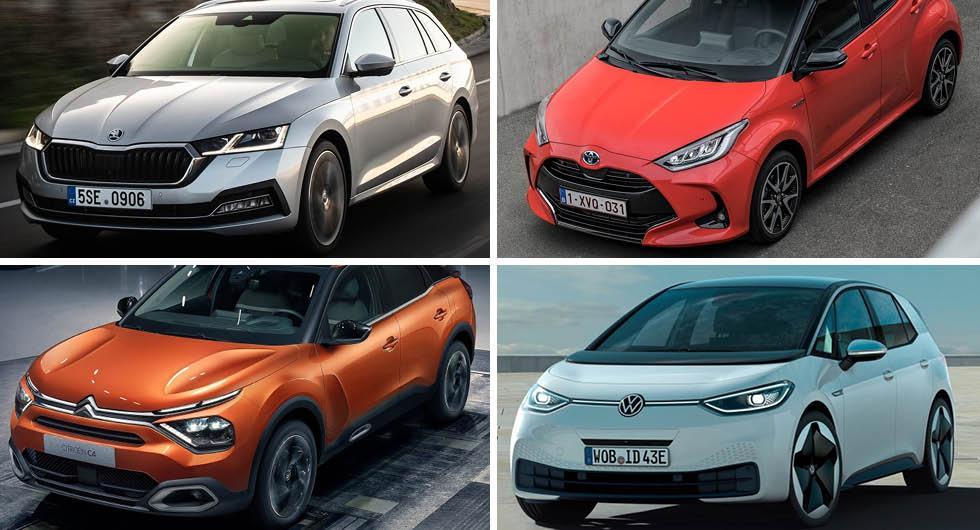 Finalisterna till Årets Bil avslöjade – här är modellerna som kan vinna