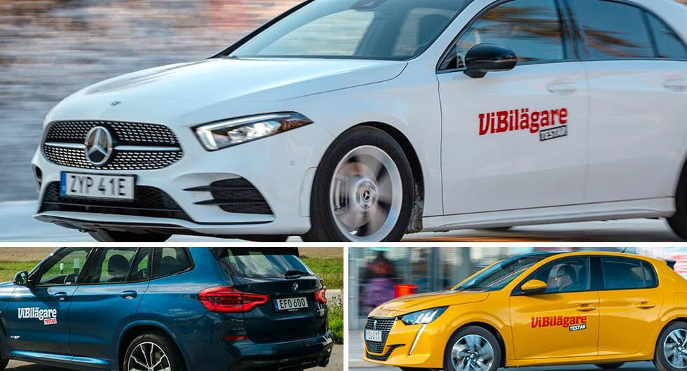 Bilmodellerna som återkallats mest – Mercedes i botten
