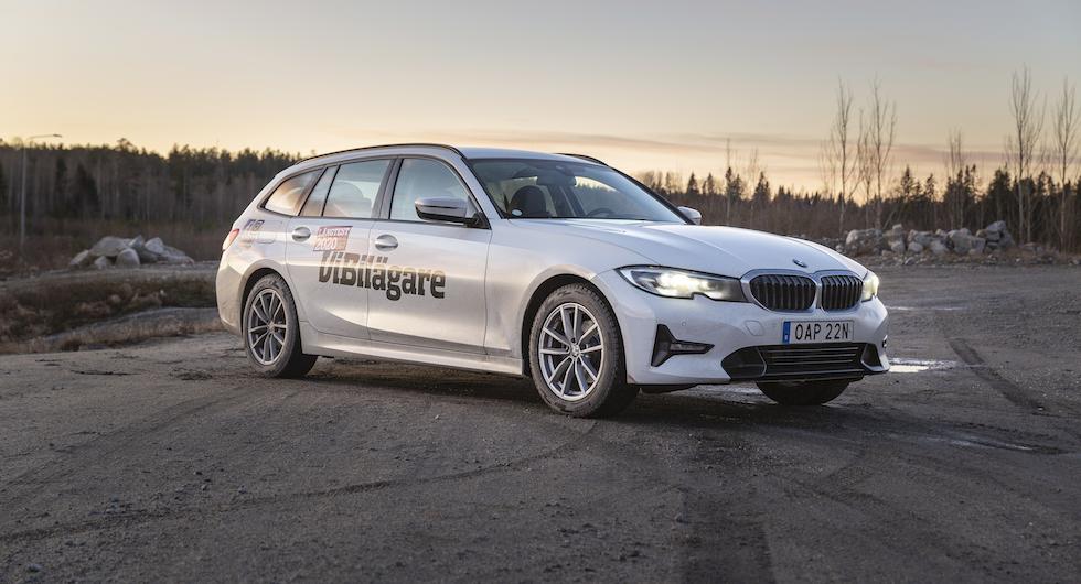 Vår BMW 320d (långtest 2020) är nu återställd efter viltolyckan.