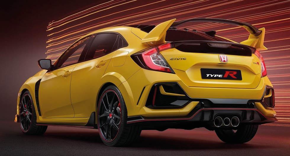 Bilden visar dagens Civic Type-R, inte nästa generation som presenteras 2022.