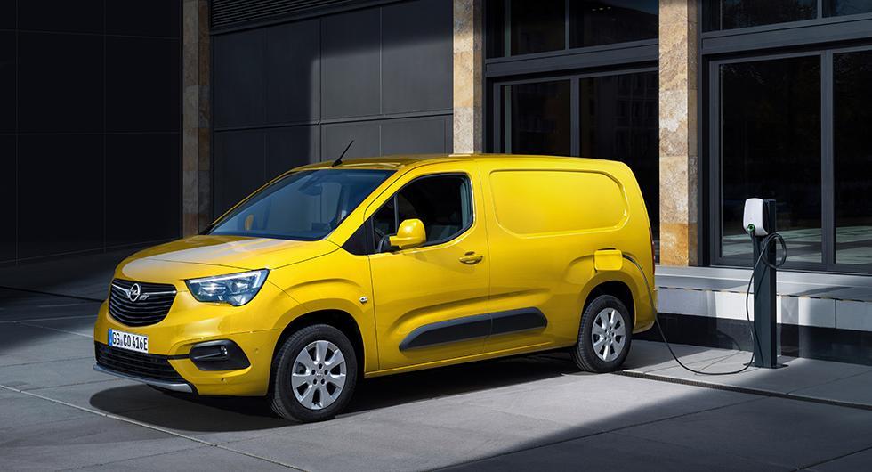 Eldrivna skåpbilen Opel Combo-e får bonus istället för malus