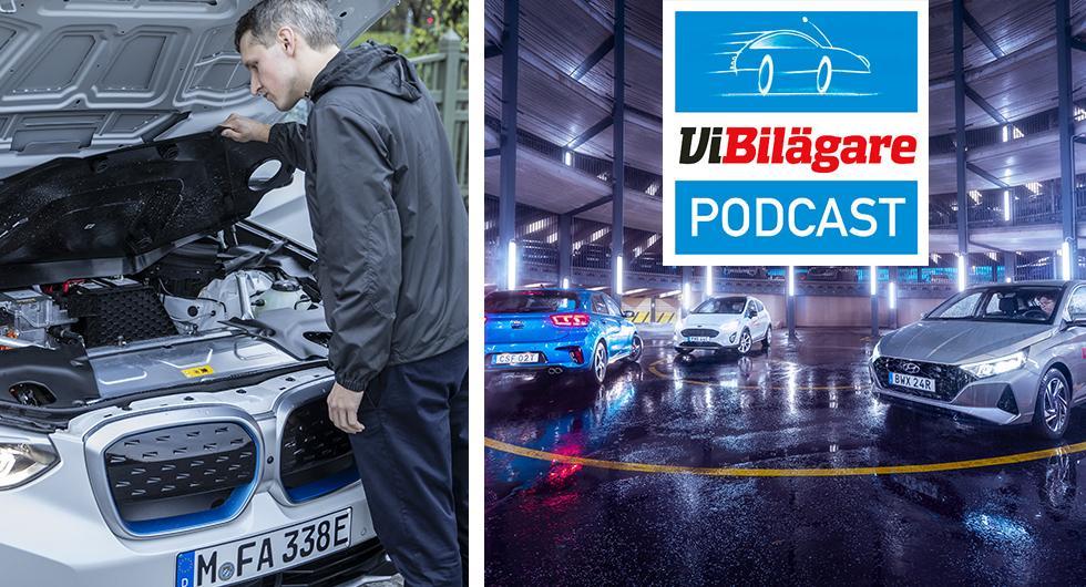Skyltavläsning, BMW iX3, buggfest i VW ID.3, småbilstest och Teslabrev del 2