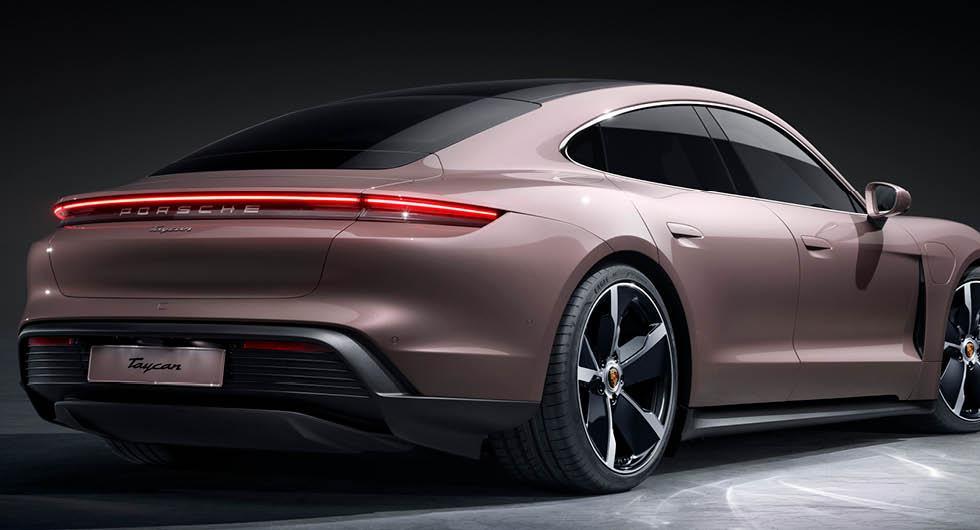 Porsche Taycan i ny snikversion – 200 000 kr billigare