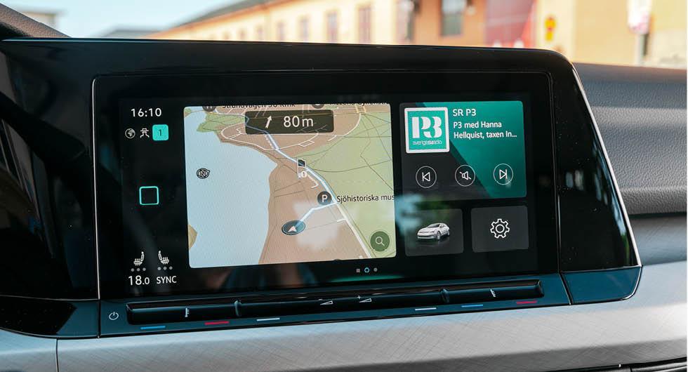 Volkswagen Golf återkallas igen för infotainment och backkamera