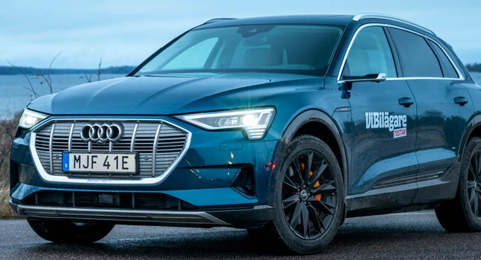 Audi vill köra om Tesla med eget laddnätverk