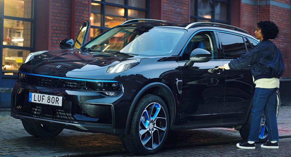 Volvoägaren Geelys plan för nya elbilsmodellerna