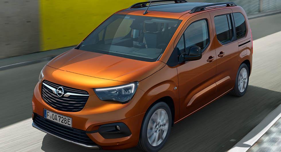 Premiär för Opel Combo-e Life – familjefraktaren får eldrift