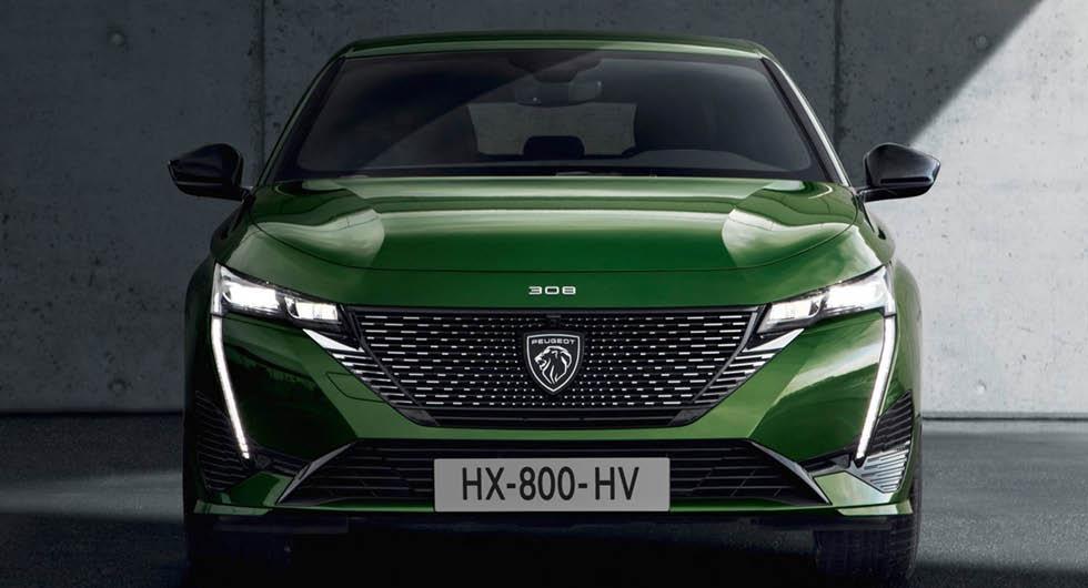 Peugeot 308 kommer med eldrift – men först 2023