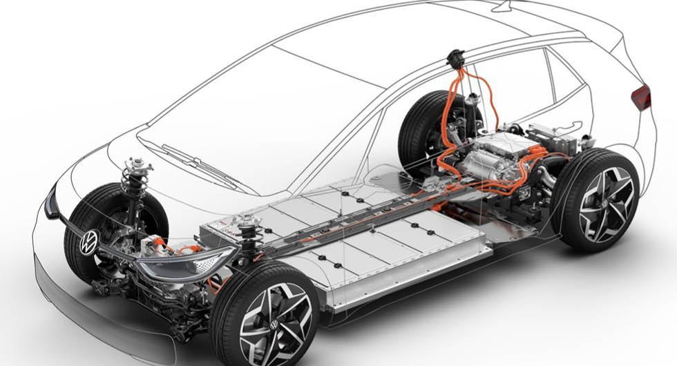 Volkswagens egna siffror: Så står sig elbil mot bensinbil