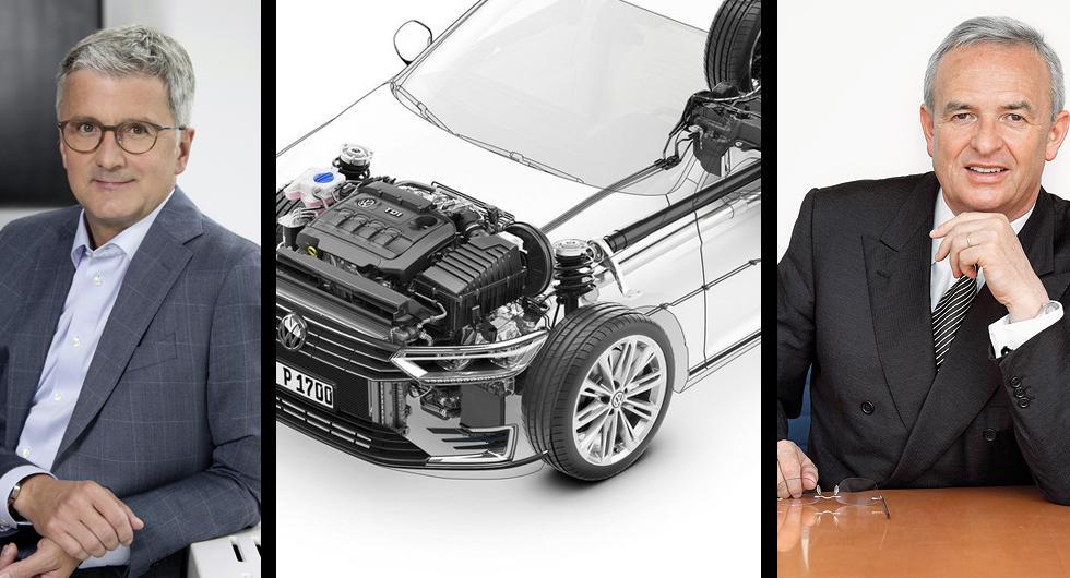 Volkswagen kräver kompensation från chefer under dieselskandalen