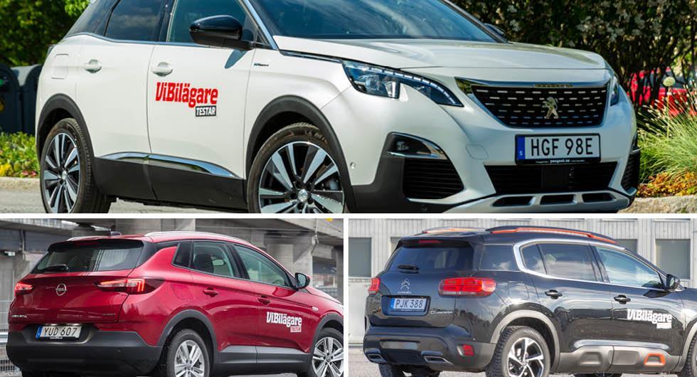 Peugeot, Citroën och Opel återkallar: Dragkroken kan lossna