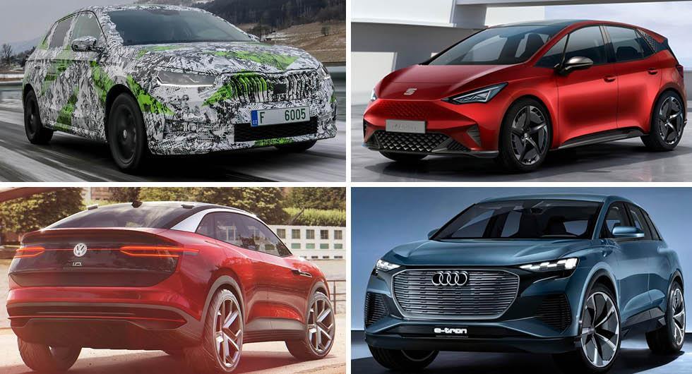Volkswagen avslöjar årets nyheter – här är modellerna som är på gång