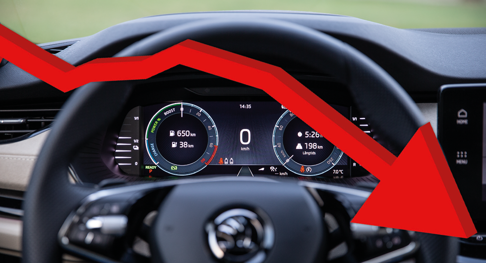 Svenska bilar körs allt kortare – elbilar kör om bensinbilar
