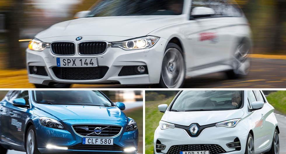 Begagnatbilarna som är billigast att äga – siffror för 103 bilar