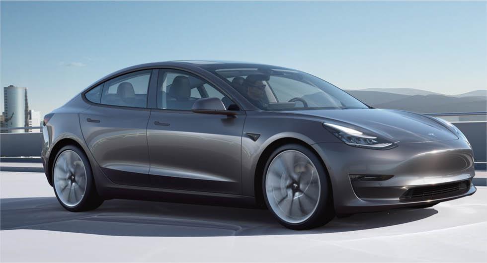 Tesla Model 3 får längre räckvidd –klarar över 60 mil
