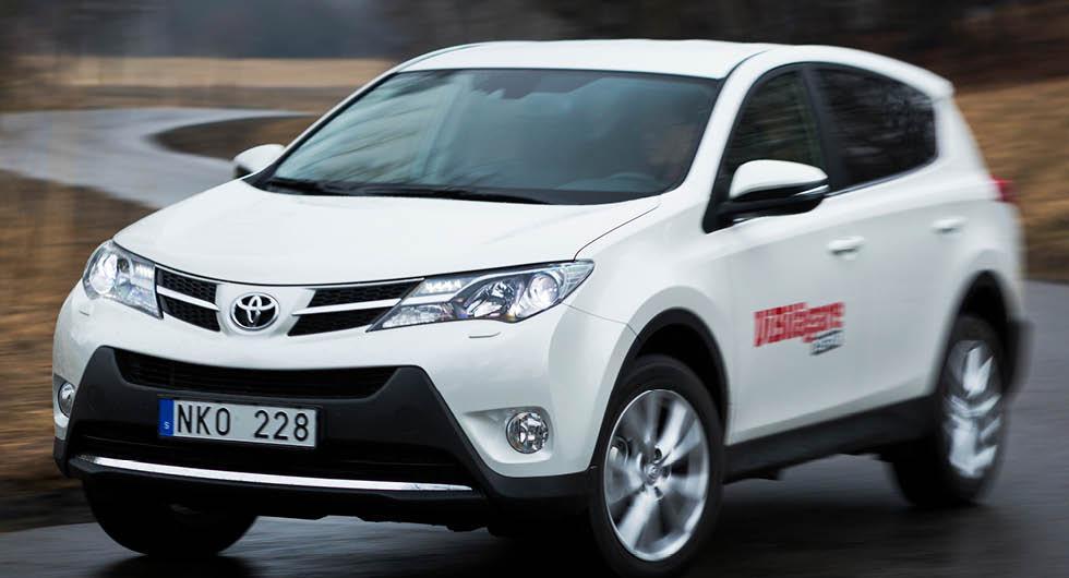 Toyota återkallar Avensis, Auris och RAV4 för brandrisk