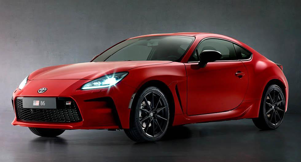 Toyota GR86 officiell – sportbilen blir lättare och mer vridstyv