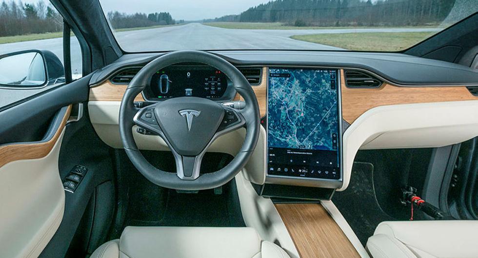 Teslas luftfiltrering är bäst på att ta bort partiklar, enligt testet.