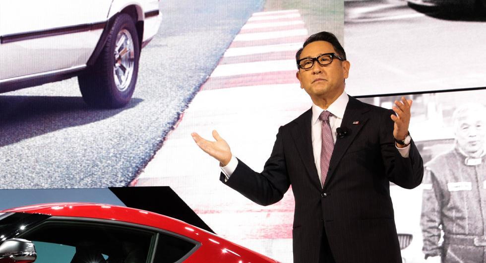 Toyotachef utsedd till årets bilperson
