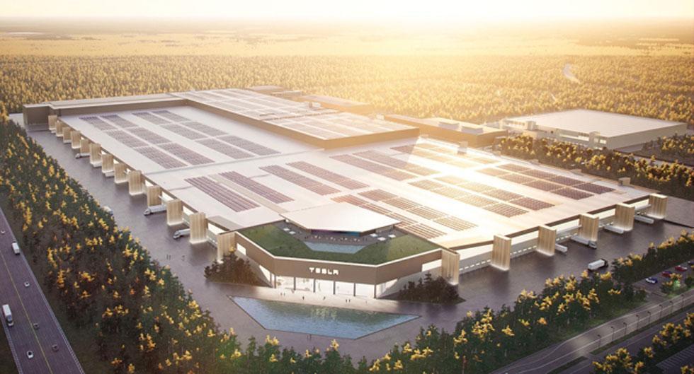 Uppgifter: Teslas nya Gigafactory i Tyskland försenad till 2022