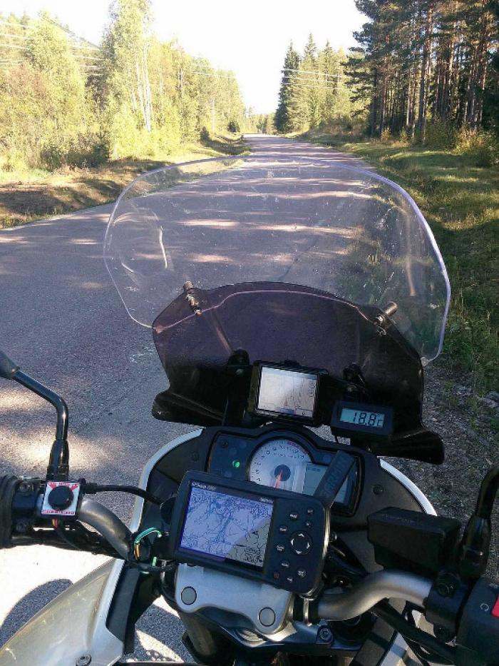 Motorcyklar, en del av trafiken