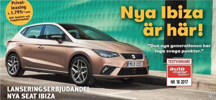 Ny Seat Ibiza eller Kia Rio?