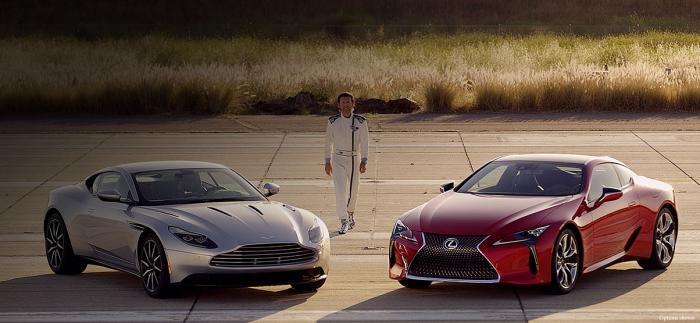 Lexus LC - en riktig snygging
