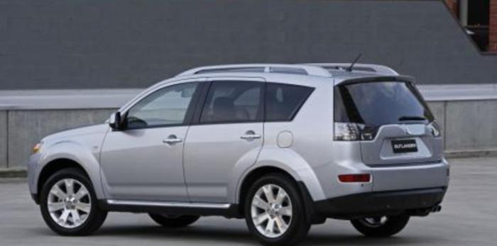 Ny slitvarg: Mitsubishi Outlander 2008-2012
