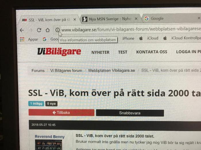 SSL - ViB, kom över på rätt sida 2000 talet.