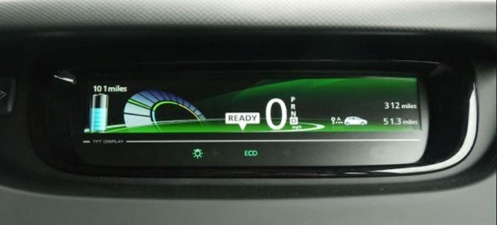 Ny upplevelse - köra elbil - Zoe