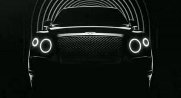 Bentley släpper ytterligare en hint om tillverkarens kommande lyxsuv.