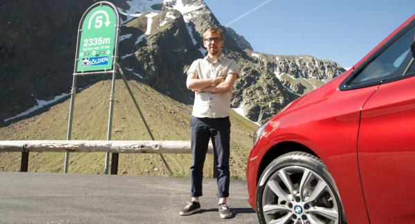 Vi Bilägares Andreas Jennersjö provkörde BMW 2-serie Active Tourer i Österrikiska alperna i helgen.