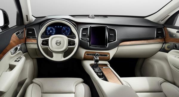 Volvo S80 kan få inredning från nya XC90.