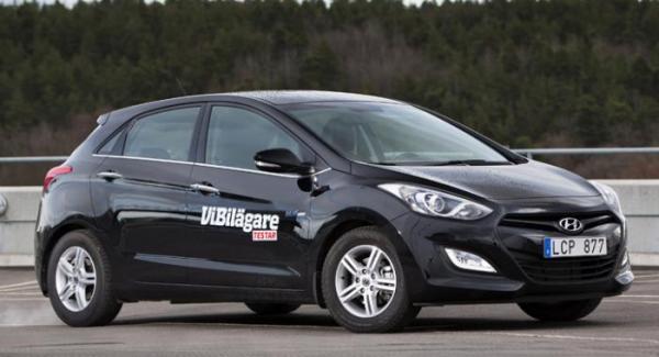 Hur starka lampor får man utrusta en Hyundai i30 med?