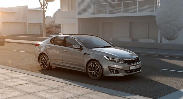 Kia Optima T-Hybrid drivs av en mild form av dieselhybrid-drivlina.