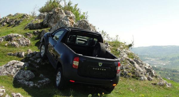 Suven Dacia Duster får flak i begränsad pickupserie för gas- och oljebolaget OMV Petrom.
