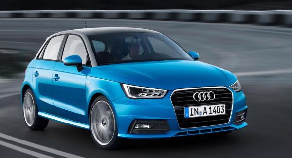 Audi A1 Sportback får ny stil under sitt fjärde levnadsår.