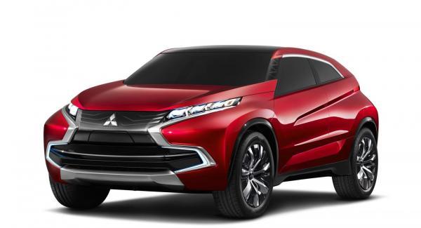 Konceptbilen Mitsubishi XR-PHEV.