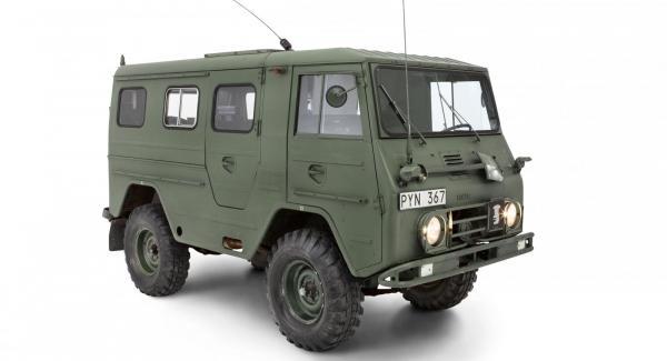"""Volvo L3315HT """"Valp"""" från 1967."""