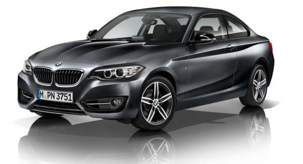 BMW 2-serie Coupe får trecylindrig motor från och med i vår.