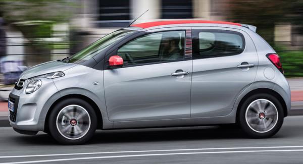 Med stora trecylindriga bensinmotorn blir nya Citroën C1 kul i stan men samtidigt bullrig och brysk.