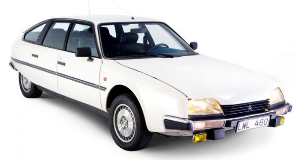 Klassiska Citroën CX 2400 GTI.