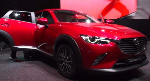 Nya Mazda CX-3.